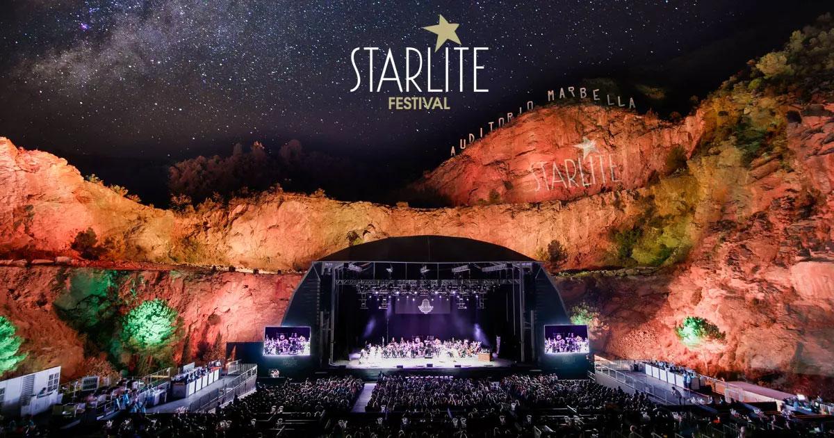 Stjerneskudd over Marbella