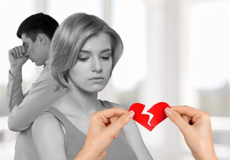 Skilsmisser og separasjoner har øket med 5,7 %