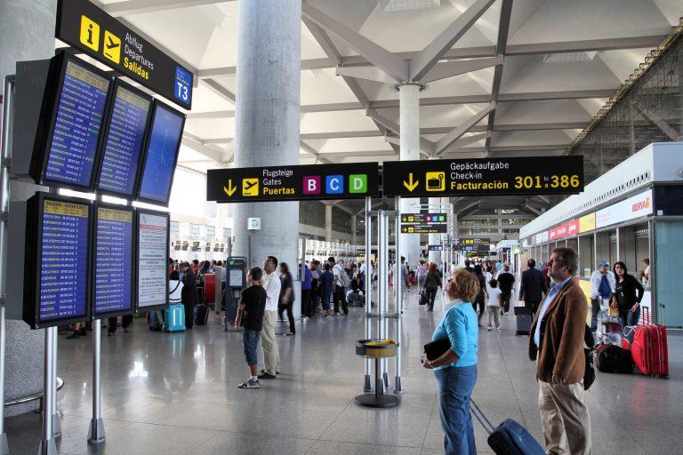 Full aktivitet på Málaga flyplass