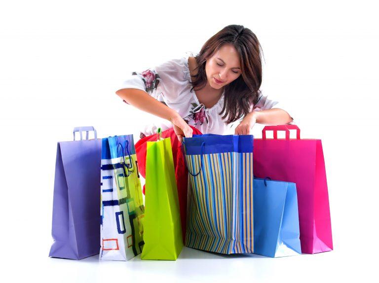 Vi shopper mer på tom mage