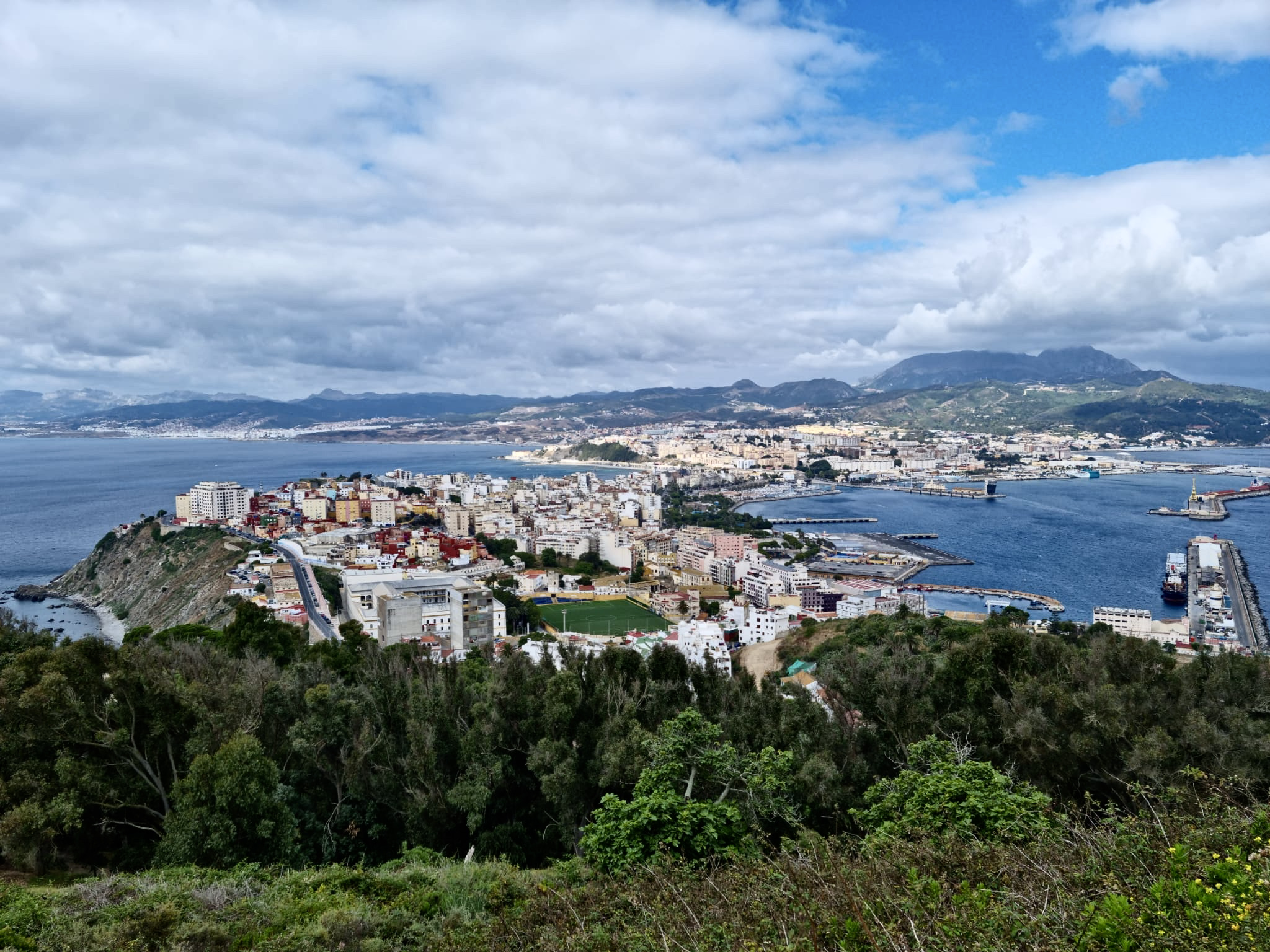 Ceuta – omstridt perle mellom hav og kontinenter