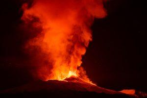 Vulkanutbrudd på La Palma
