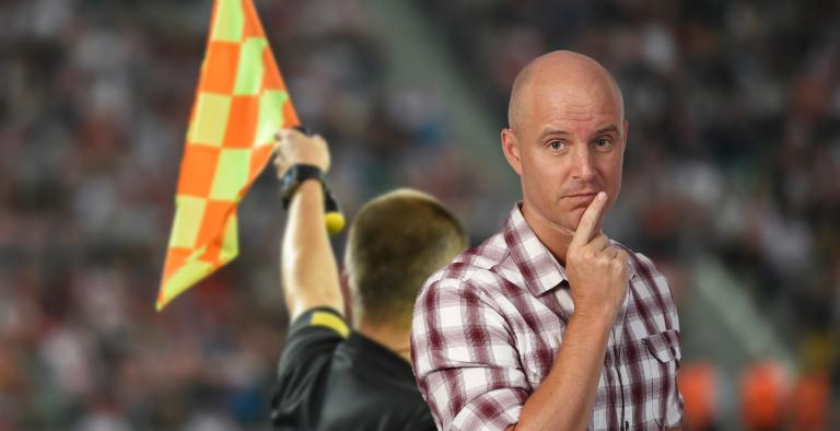På den andre siden... Har spansk fotball kommet i offside?
