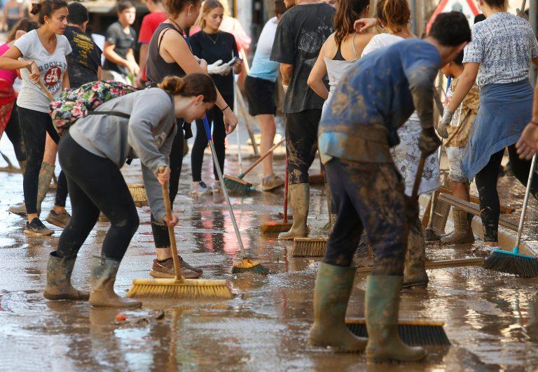 500 000 andalusiere bor i flomrisikoområder